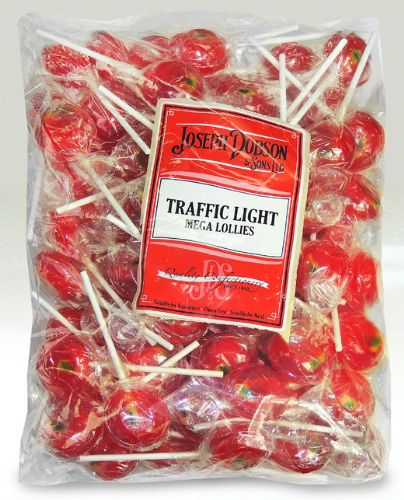 DOB14 DOBSONS WRAPPED TRAFFIC LIGHT LOLLY